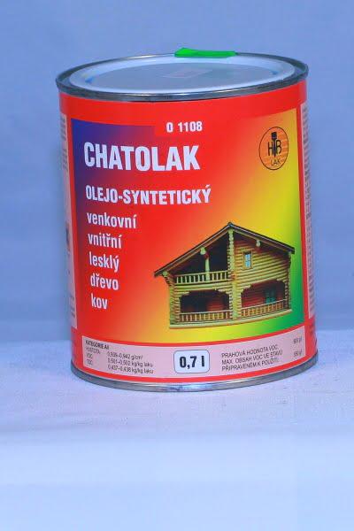 Chatolak 01108 lak olej.