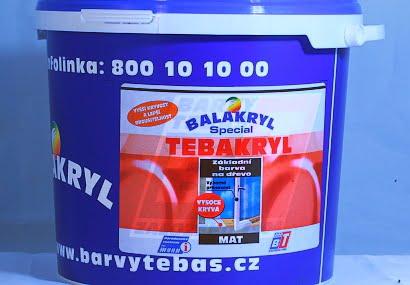 Tebakryl V2038/0100 bílý
